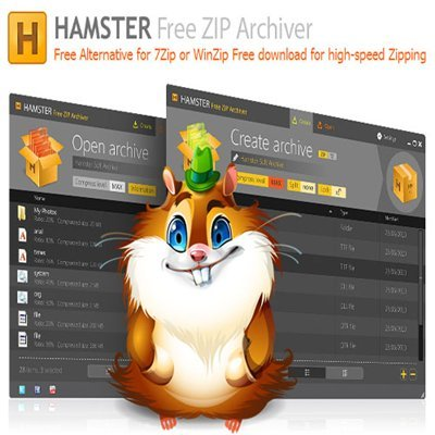 Hamster Free ZIP Archiver 2.0.0.16 ML Rus Portable