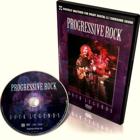 Progressive Rock. Rock Legends (2007) DVD-5