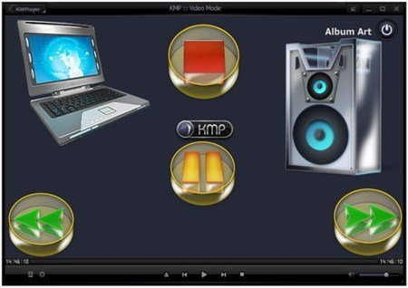 The KMPlayer 3.1.0.0 R2 LAV by 7sh3 (12.02.12) Portable