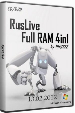 RusLiveFull RAM 4in1 by NIKZZZZ CD/DVD (13.02.2012)