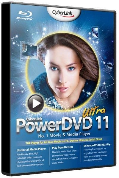 CyberLink PowerDVD Ultra 11.0.2608 RePack by qazwsxe Rus/Eng