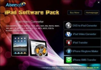 Aiseesoft iPad Software Pack 6.2.18