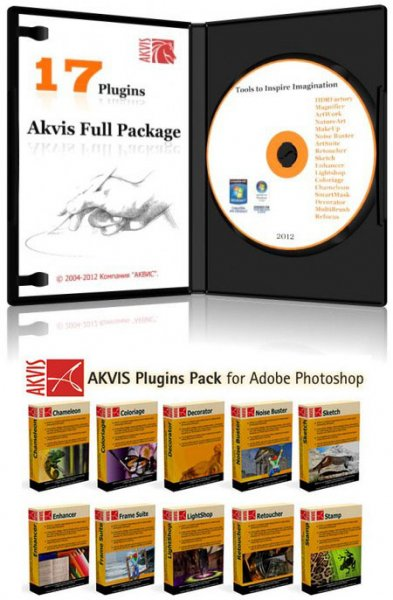 AKVIS Plugins Pack for Adobe Photoshop Multilingual [Apr-2012]