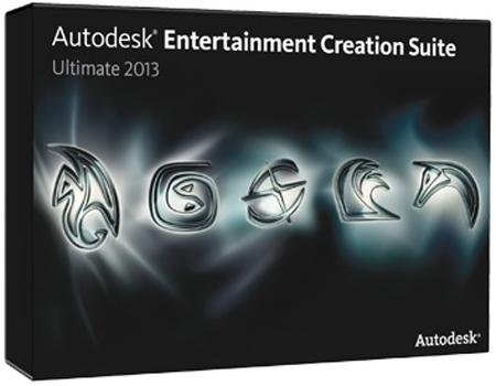 Autodesk Entertainment Creation Suite Ultimate V2013 Win64-ISO