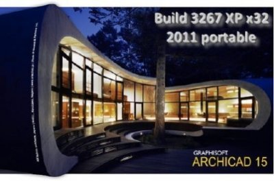 ArchiCAD 15 Build 3006 XPx32 (2011) portable