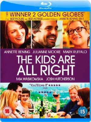 Детки в порядке / The Kids Are All Right (2010/BDRip)