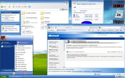 Microsoft Windows XP Professional 32 бит SP3 VL RU SATA AHCI
