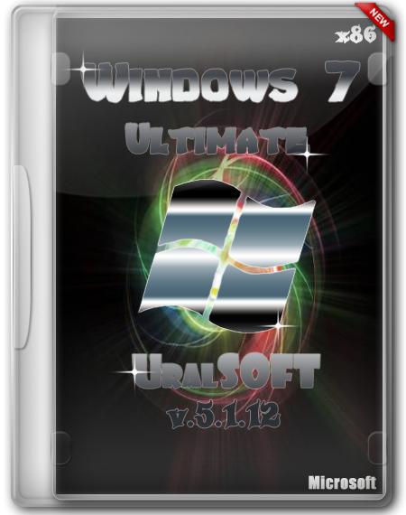 Windows 7x86 Ultimate UralSOFT v.5.1.12 (2012/Rus)