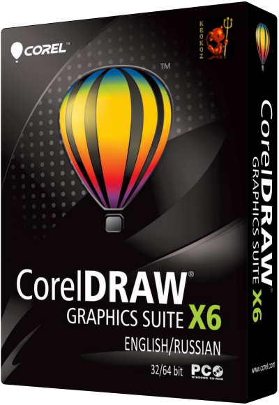 CorelDRAW Graphics Suite X6 16.0.0.707 [English + Russian] by Krokoz