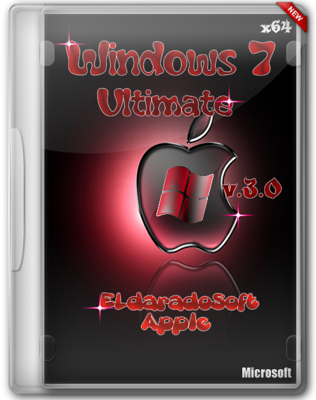 Windows 7 Ultimate SP1 x64 ELdaradoSoft Apple v.3.0 (2012/Rus)