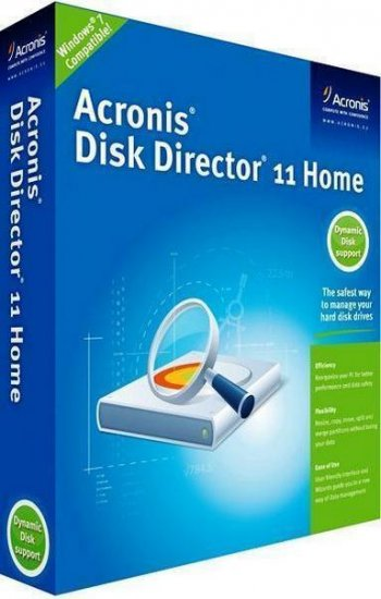 Acronis Disk Director 11 Home v11.0.2343 Update 2 Rus