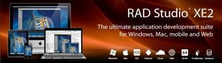 Embarcadero RAD Studio XE2 with Update 4 (6931 16.0.4429.4/x86/x64)