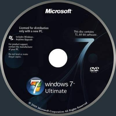 Windows 7 Ultimate 32-64Bit (Full with Activation)
