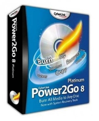 CyberLink Power2Go Essential 8.0.0.1429 Portable (ML/ENG/2012)