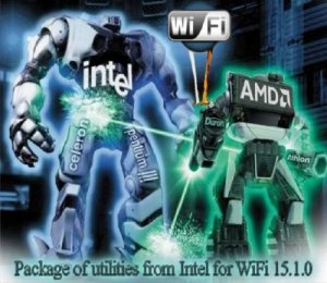 Package of utilities from Intel for WiFi 15.1.0
