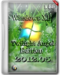 Windows XP Twilight Angel Edition 2012.05