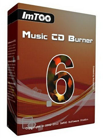 ImTOO Music CD Burner 6.4.0 Build 20120801
