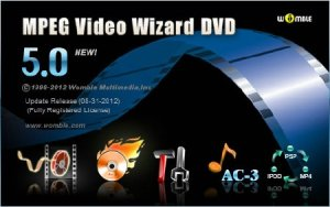 Womble MPEG Video Wizard DVD 5.0.1.105 (08/2012)