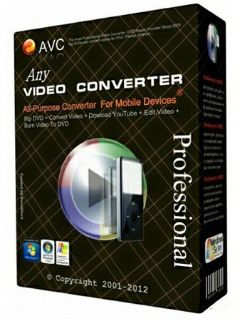 Any Video Converter Professional 3.5.2